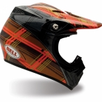 МОТОШЛЕМ BELL MOTO-8 PLAID ORANGE 2020177-S