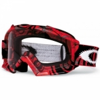 Oakley PROVEN MX Red Tribal - маска для мотокросса