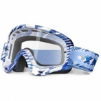 Oakley O-Frame MX Navy Digi Slashed - маска для мотокросса